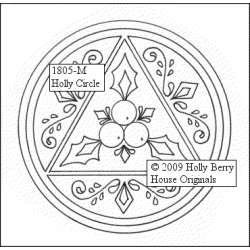 Holly Circle Ornament inkl....