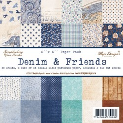 Denim & Friends 6x6 Paper Pack