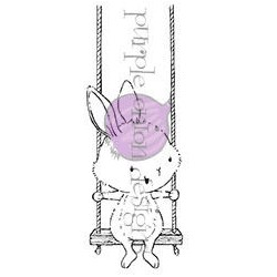 April (Bunny on Swing)