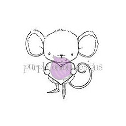 Heartfelt (Mouse with Heart)