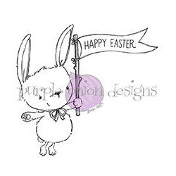 Ivy (Bunny with Easter Flag)