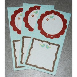 3 Die-Cut-Labels