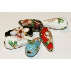 Cloisonne - Drop Beads - 5...
