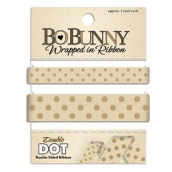 Double Dot Ribbon - Decaf