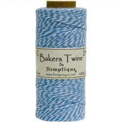 Bakers Twine - Blue/White