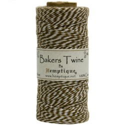Bakers Twine - Lt. Brown/White