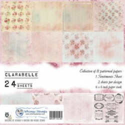 Clarabelle 6x6 Paper Pack