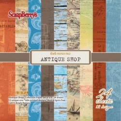 Antique Shop 6x6 Paper Pack