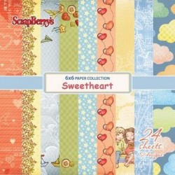 Sweetheart 6x6 Paper Pack