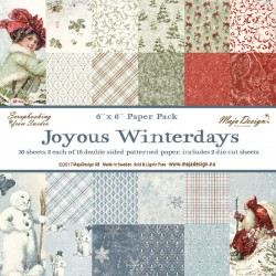Joyous Winterdays 6x6 Paper...