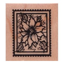 Poinsettia Stamp