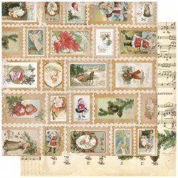 Christmas Collage - Stamps