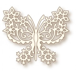 Frosted Butterfly Die