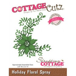 Holiday Floral Spray
