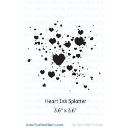 Heart Ink Splatter